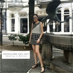 Hi everyone! It's me Guitar Patinya and a flash back from my recent  beautiful day in France. Come try my new PATINYA PRE-FALL 2015 collection na ka, all stores today... Hope you love it like I do! @patinyabkk @guitarpatinya #patinya #patinyabkk #fashion #dress #thaidesigners #adaptingtomotions