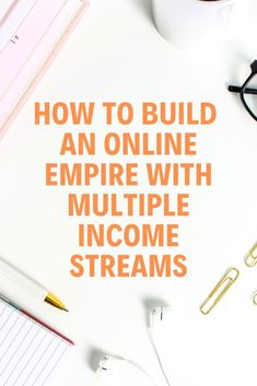 You may already create the content that aligns with your business to serve your audience. Now, think how you can turn it to the online income. Learn how to build an online empire with multiple income streams, via Online Entrepreneur, Business Entrepreneur, Business Marketing, Business Tips, Online Marketing, Online Business, Content Marketing, Entrepreneur Ideas, Marketing Branding