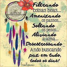 Boa tarde!!! A paz em tudo  todos os dias