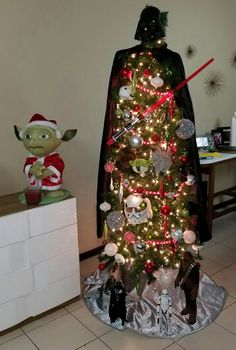 My Star Wars Christmas Tree