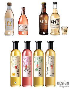 월간 디자인 : 한국의 식문화를 담은 국가 대표 술, 전통주 | 매거진 | DESIGN