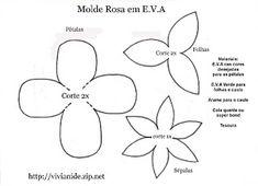 EDUCAÇÃO INFANTIL - Prof. Dessire: Lembrança de flor para Dia das Mães