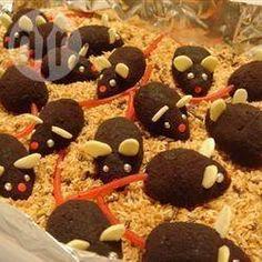 Ratoncitos de chocolate facilísimos para un cumpleaños infantil