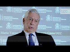 Mario Vargas Llosa (2010 Nobel prize winner in literature) Entrevista a Mario Vargas Llosa   UCC   2013