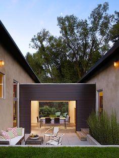 3 Bar Residence nestled on wooded California site