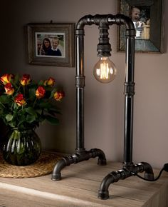 Steampunk Design Retro Art Lamp for Living and Dining Room Bedside Lamps for an Ambient Bedroom