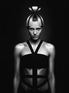 "RHDA 2014 Winner in the ""hairdresser of the year"" category.  hair - Pavel Ohapkin mua - Nika Kislyak style - Olga Kalafati set-design - Pasha Pavlov ph & pp - Karen Kananian"