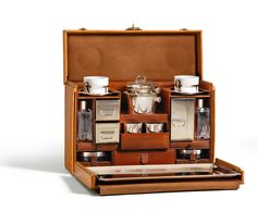 The perfect tea trunk (or apothecary trunk depending on how you look at it)