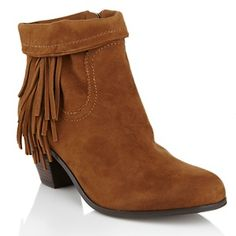 "Sam Edelman ""Louie"" Leather Boots with Fringe available at HSN.  Get 20% OFF Your Next Single Item Apparel Purchase only at HSN.com when you shop through RebateGiant http://www.rebategiant.com/store/402/hsn-com.html"