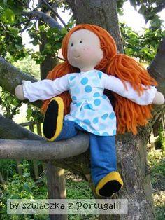 Kasia  - Waldorf doll