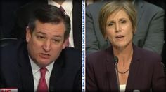 5-9-17 BOOM! WITH ONE QUESTION TED CRUZ GOT SALLY YATES TO GIVE UP THE DARKEST ...