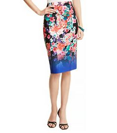 @Who What Wear - Nanette Lepore Wipeout Floral Skirt ($298)  A floral-print skirt is a sure way to spiff up your nine-to-five attire.