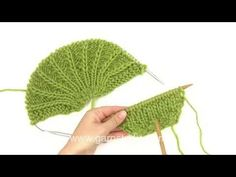 DROPS Knitting: How to start a shoulder piece - YouTube