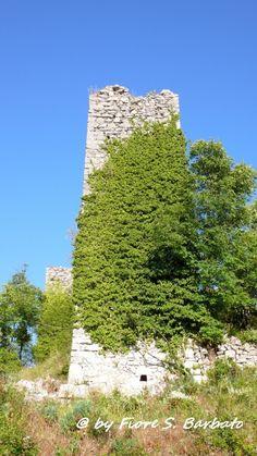Solofra (AV), 2007, Ruderi del Castello Longobardo. by Fiore S. Barbato, via Flickr #InvasioniDigitali il 28 aprile dalle ore 11:00 #laculturasiamonoi #liberiamolacultura Invasore: Gianni Guacci