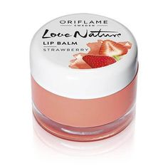 Oriflame Love Nature Lip Balm - Strawberry, 7g