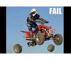 QUADCRAZY ATV Community Photo Gallery where members can upload their ATV photos to share with our community. Upload your ATV pictures as a member of our ATV community. Sports Fails, Funny Accidents, Perfectly Timed Photos, Perfect Timing, Sports Photos, Having A Bad Day, Sports Humor, Funny Sports, Funny Moments