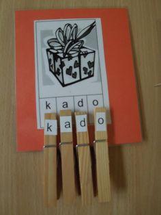 Goede letter-herken oefening voor kleuters (wel de juiste leesletters gebruiken)