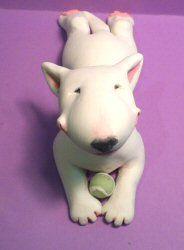 Adorabull Bull Terrier   eBay    artist:  adorabull-bullterriers