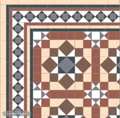 What the tiles in my front hall SHOULD look like...