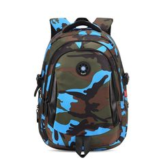 TANGIMP Kids Backpack School Bags Unisex Travel Mochila escolar Cool Backpacks Bags for Boys Girls Teenager 3 Size Camouflage Cheap School Bags, School Bags For Girls, School Kids, Primary School, Boys Backpacks, School Backpacks, Backpack Bags, Travel Backpack, Camouflage Backpack
