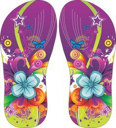 20be65674803c0 157 melhores imagens de sandálias em 2017 | Estampas para chinelos ...
