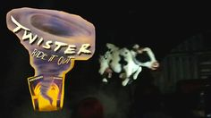 Twister: Ride it Out at Universal Studios Orlando. The Very Last Showing...
