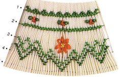 Pointsettias, by Ellen McCarn (individual pattern plate)