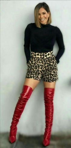 Thigh High Boots Heels, Knee Boots, Heeled Boots, Thigh Highs, Thighs, Shoes, Fashion, High Heel Boots, Moda