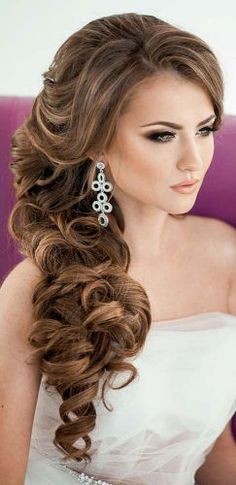favorite wedding hairstyles for long hair fishtail