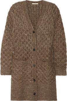 Michael Kors Honeycomb-knit cardigan | NET-A-PORTER