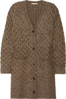I love this sweater Michael Kors Honeycomb-knit cardigan | NET-A-PORTER