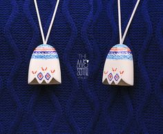 Porcelain jewelry:  pendant by The AweSome Project f/w '12-'13 collection