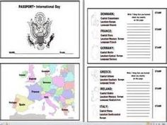 United States Passport Template Ready To Print  Passport