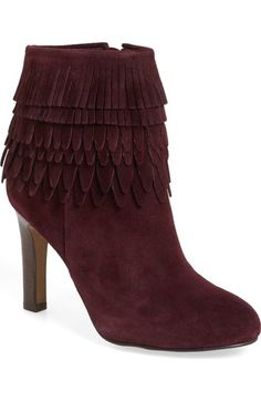 254e709f502 Isolá 'Layton' Fringe Bootie (Women) available at #Nordstrom Suede Boots,