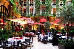 Los mejores establecimientos de 2015, según los Villégiature Awards.  Hotel Plaza Athénée, Mejor Decoración Floral