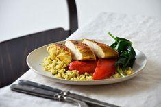 Kublanka vaří doma - Květákový kuskus s kuřetem Cooking Tips, Risotto, Chicken, Eat, Ethnic Recipes, Food, Essen, Meals, Yemek