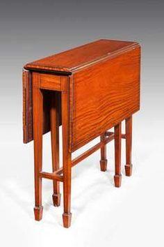 Edwardian Period Satinwood Southerland Table.