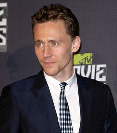Tom Hiddleston at MTV movie awards