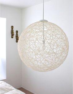 DIY pendant light by guida