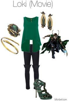 Avengers-Inspired Fashion-Loki