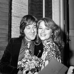 Charlotte Rampling with first husband Bryan Southcombe