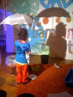 Light and shadow play at Bambini Creativi