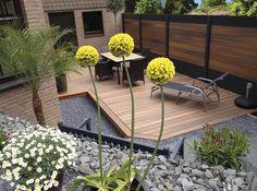 Palissade IdéAl - Deck-linéa : Modern garden by Deck-linéa