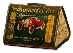 a variety of interesting vintage oil cans Old Gas Pumps, Vintage Gas Pumps, Vintage Oil Cans, Vintage Tins, Vintage Ideas, Pompe A Essence, Pot Pourri, Old Gas Stations, O Gas