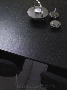 Angola Black Leather Granite Countertop, Nero Angoila Black Granite from United States Black Granite Countertops, Outdoor Kitchen Countertops, Kitchen Counters, Kitchen Floor, Leather Granite, Stone Kitchen, Outdoor Kitchen Design, Counter Top, Cool Kitchens