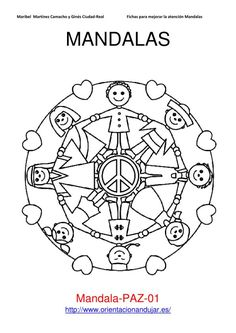 Mandalas bring relaxation and comfort to adults all over the world. Mandalas are one of our favorite things to color. Kids can color them too! We have some more simple mandalas for kids to color. Mandalas for Kids Mandala Coloring Pages, Colouring Pages, Printable Coloring Pages, Adult Coloring Pages, Coloring Books, Yoga For Kids, Art For Kids, Around The World Crafts For Kids, Mandalas For Kids