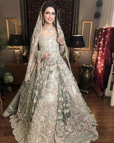 Indian Bridal Wear Anarkali Walima 56 Ideas For 2019 Asian Bridal Dresses, Asian Wedding Dress, Pakistani Wedding Outfits, Pakistani Bridal Dresses, Pakistani Wedding Dresses, Pakistani Dress Design, Bridal Outfits, Bridal Lehenga, Indian Dresses