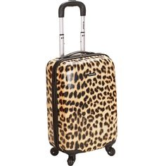 "Buy the Rockland Luggage Safari 20"" Hardside Spinner Carry-on at eBags - Turn heads wherever you go with your essentials packed inside this animal print hardside spinner cas"
