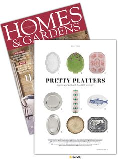 Suggestion about Homes and Gardens - UK Dec 2018 page 203 Festival Decorations, Serveware, Home And Garden, Product Launch, Gardens, Homes, Design, Style, Swag