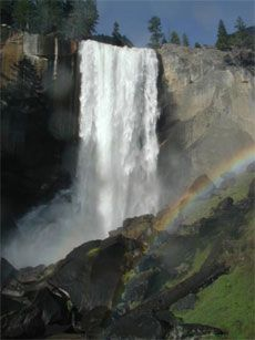 Yosemite - visited in the eighth grade. Waterfalls, nature, and the first national park. A great natural place to see.